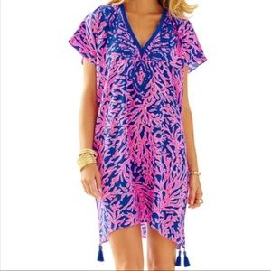 "🌴Lilly Pulitzer ""Did you Catch That"" Caftan L/XL"